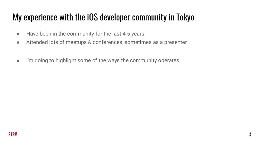 My experience with the iOS developer community ...