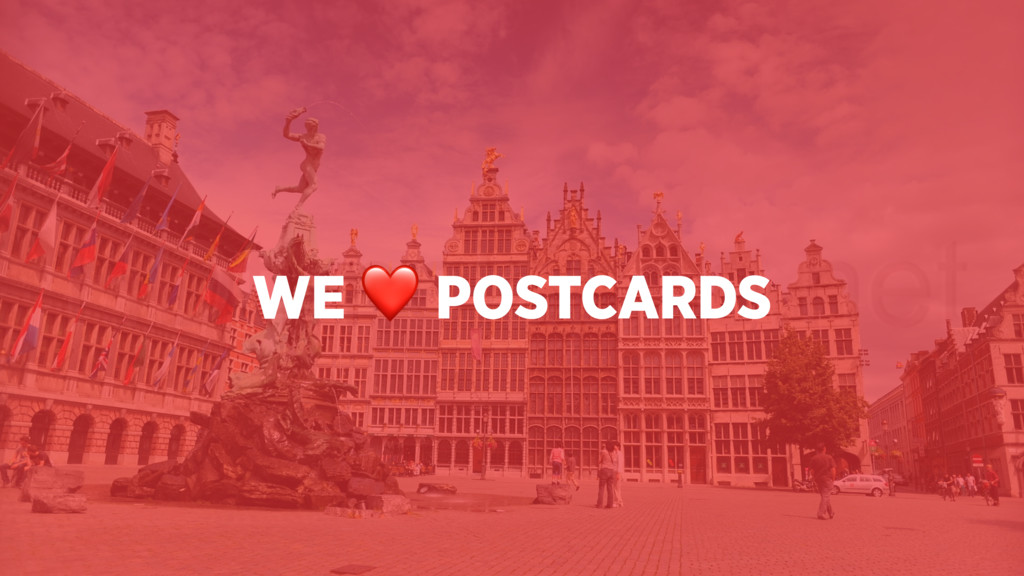 WE ❤ POSTCARDS