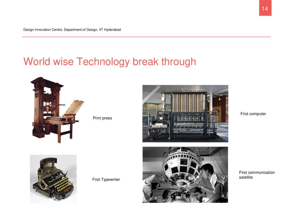 World wise Technology break through Design Inno...