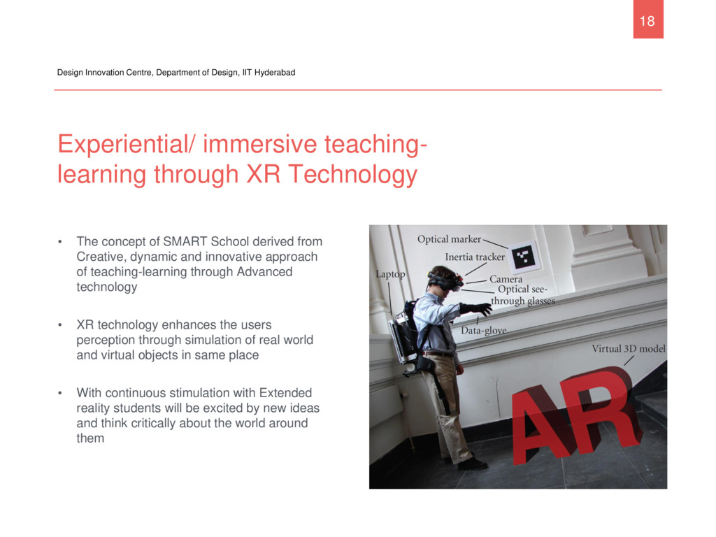 Experiential/ immersive teaching- learning thro...