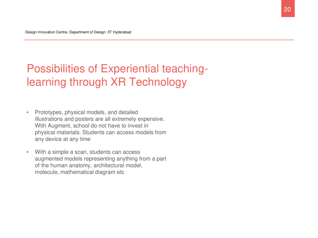 Possibilities of Experiential teaching- learnin...