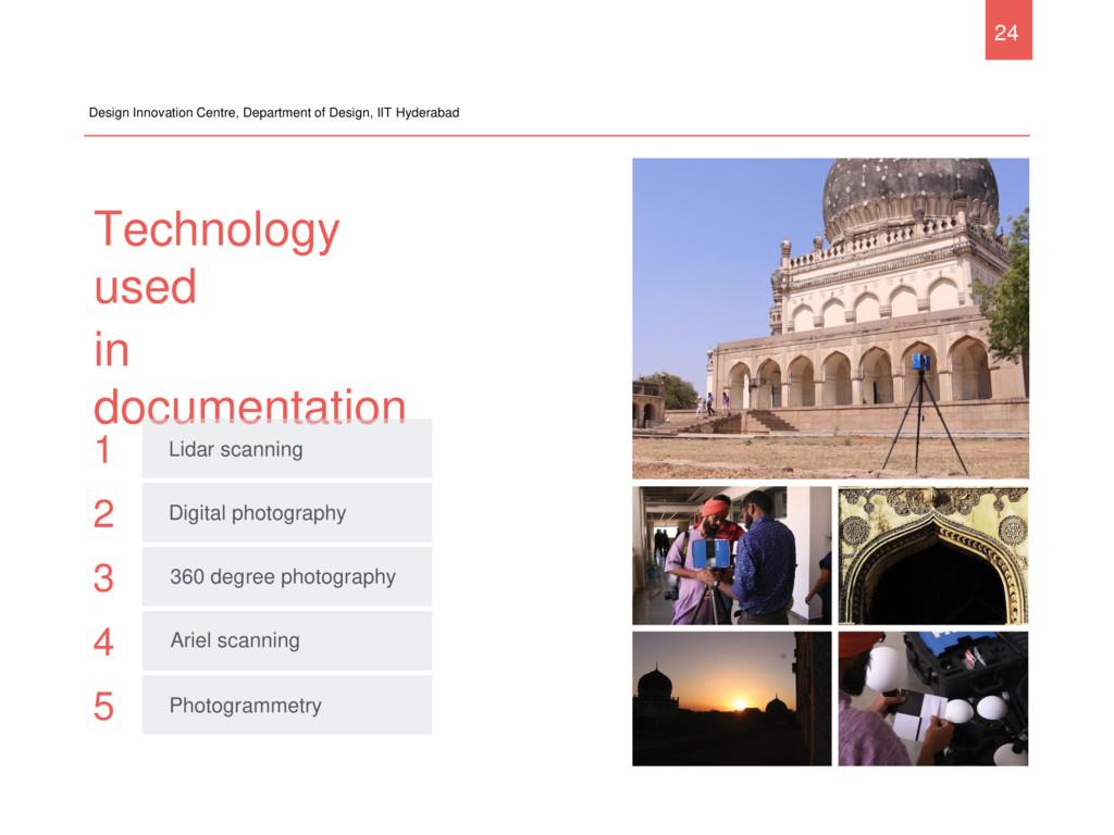 Technology used in documentation Design Innovat...