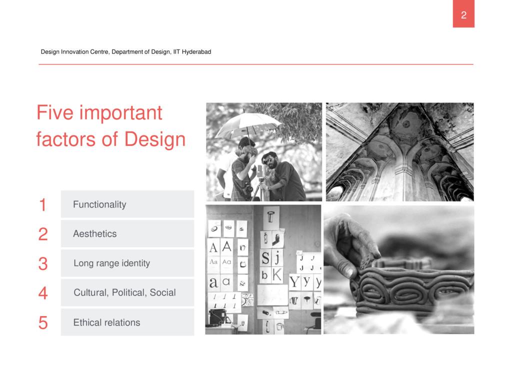 Five important factors of Design Design Innovat...