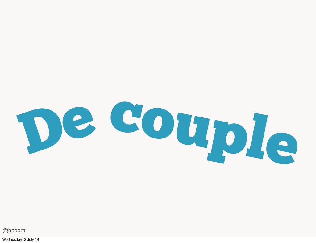De couple @hpoom Wednesday, 2 July 14