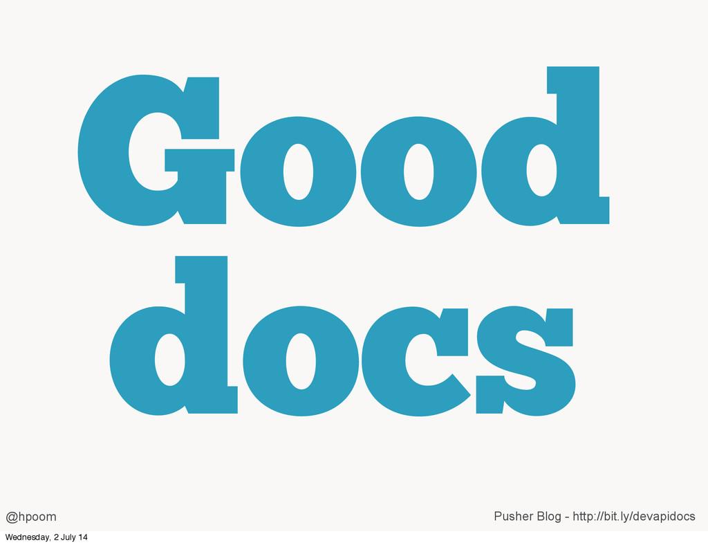 Good docs @hpoom Pusher Blog - http://bit.ly/de...