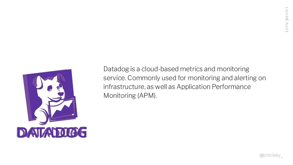 Datadog is a cloud-based metrics and monitoring...