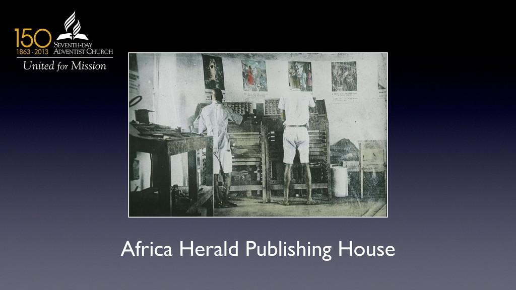 Africa Herald Publishing House