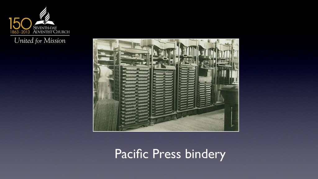 Pacific Press bindery