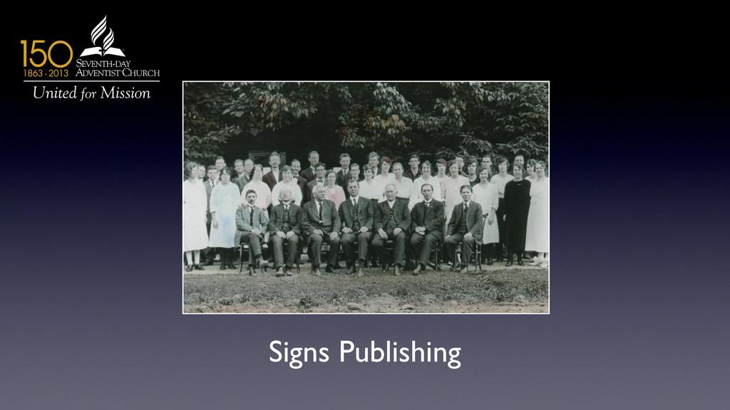 Signs Publishing