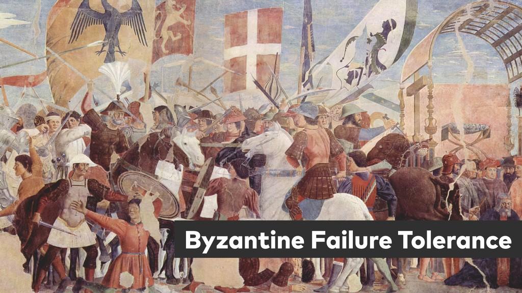 Byzantine Failure Tolerance