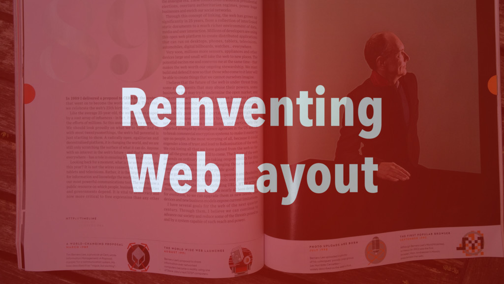Reinventing Web Layout