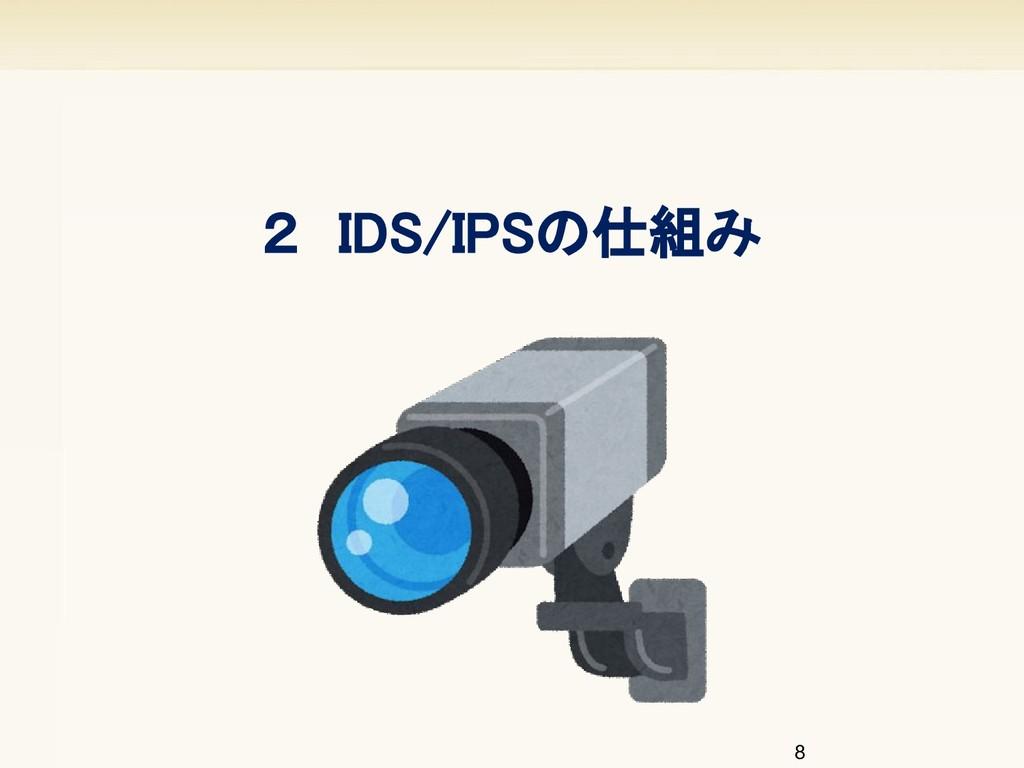 8 2 IDS/IPSの仕組み
