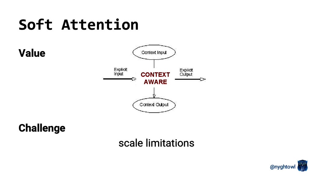 @nyghtowl Soft Attention Value Challenge scale ...