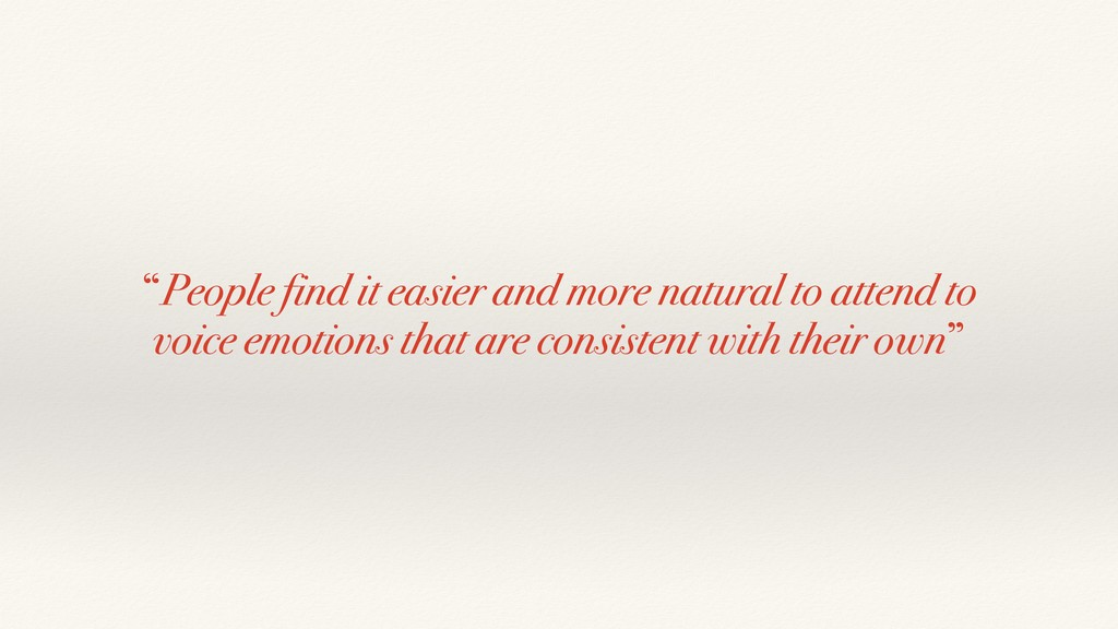"""""""People find it easier and more natural to atte..."""