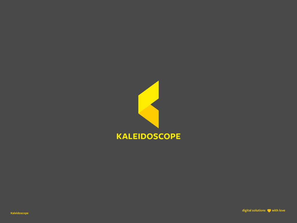 Kaleidoscope digital solutions with love