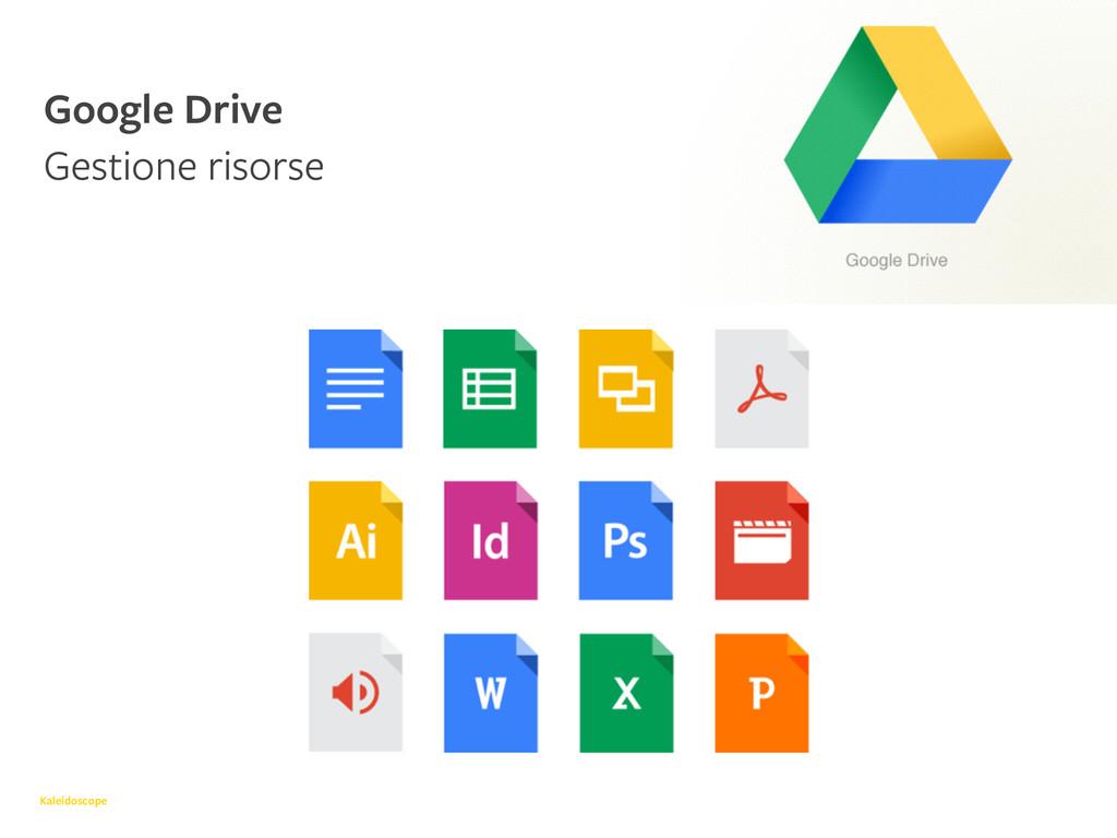 Kaleidoscope Google Drive Gestione risorse