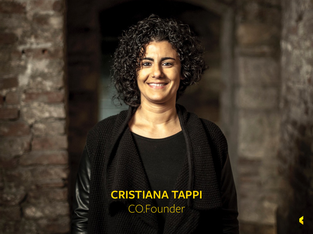 Kaleidoscope CRISTIANA TAPPI CO.Founder