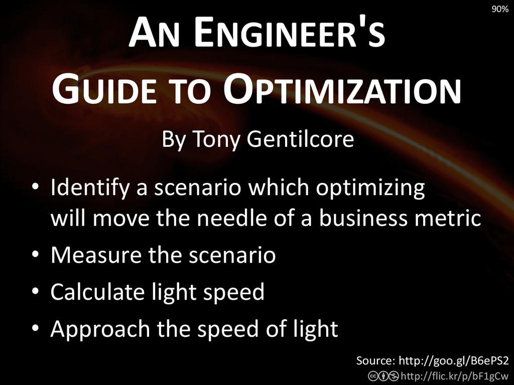 • Identify a scenario which optimizing will mov...