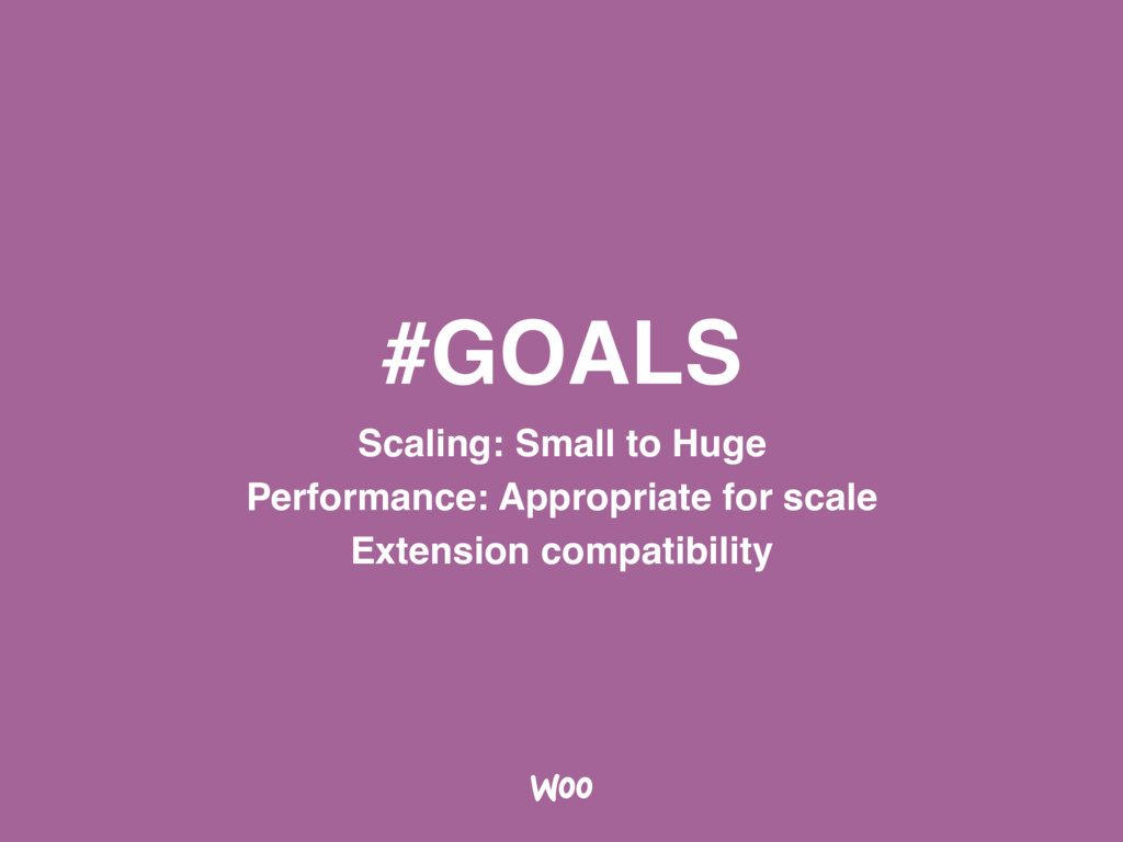 #GOALS Scaling: Small to Huge Performance: Appr...