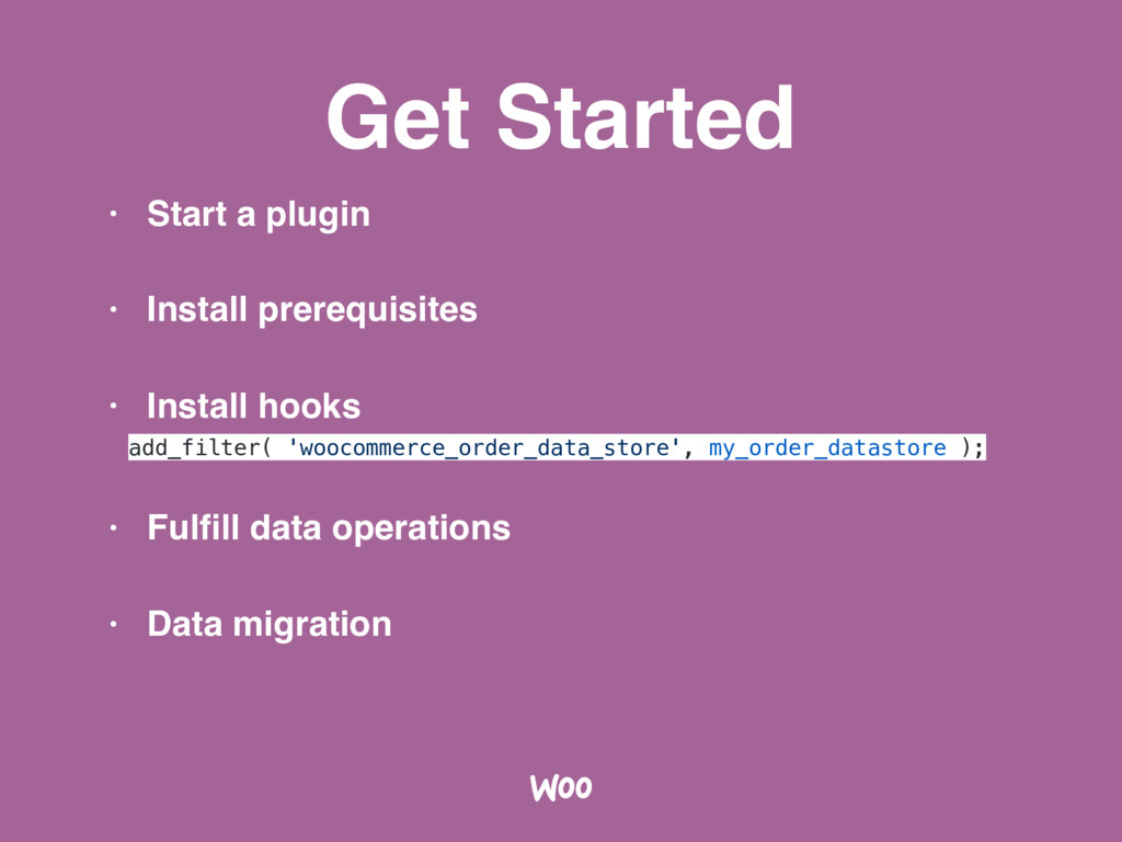 Get Started • Start a plugin • Install prerequi...