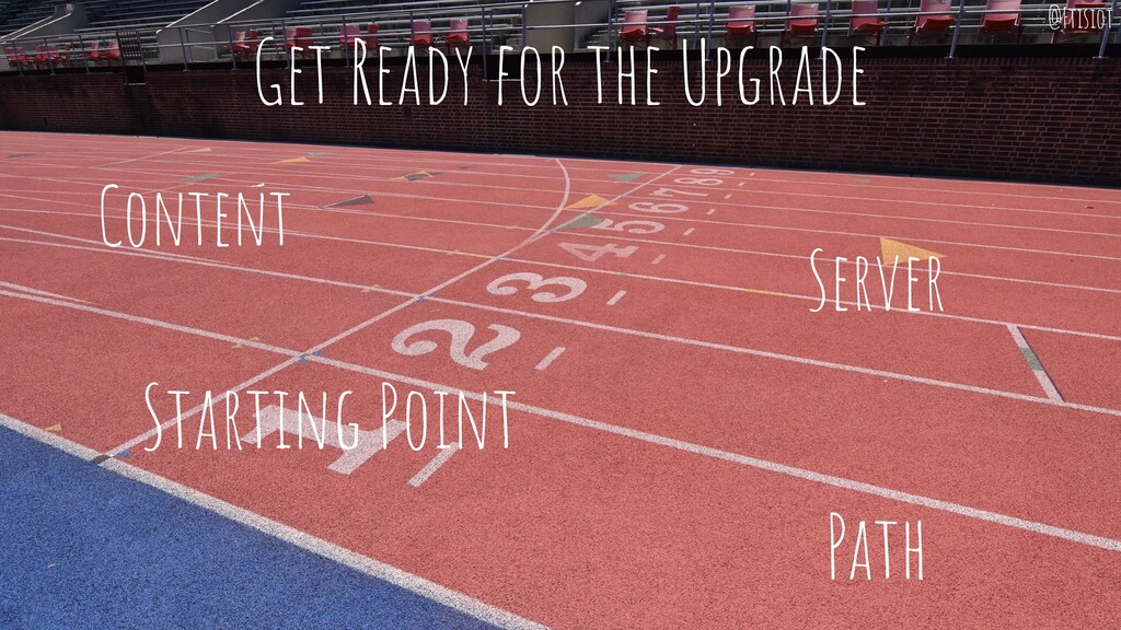 Get Ready for the Upgrade Content Server Starti...