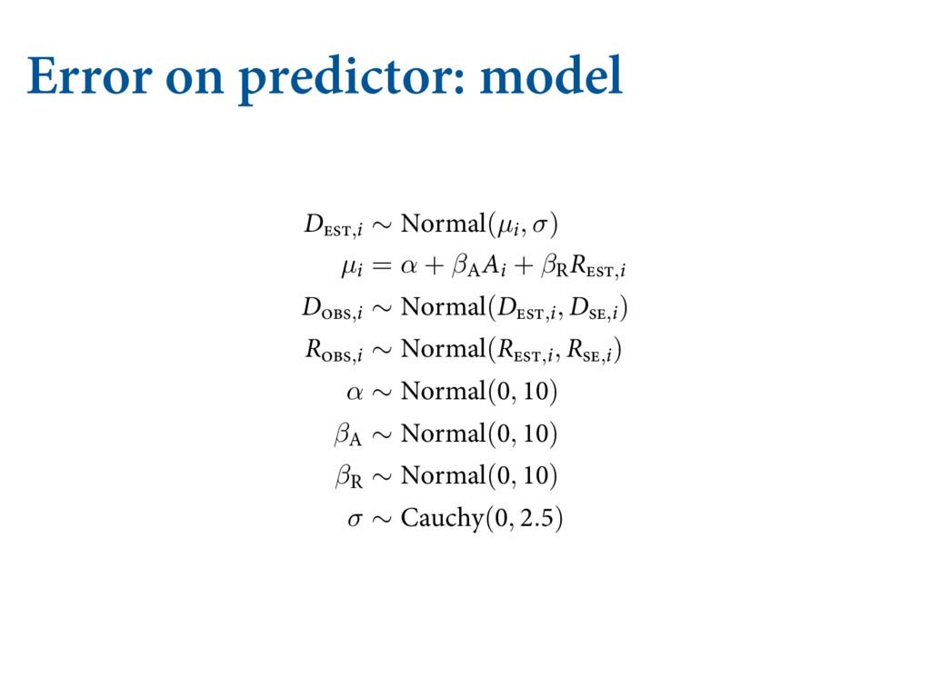 Error on predictor: model  &SSPS PO CPUI...
