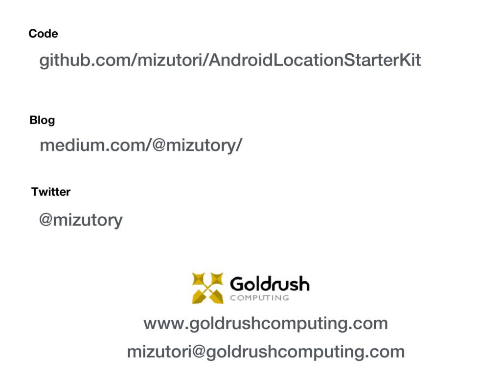 Blog medium.com/@mizutory/ github.com/mizutori/...
