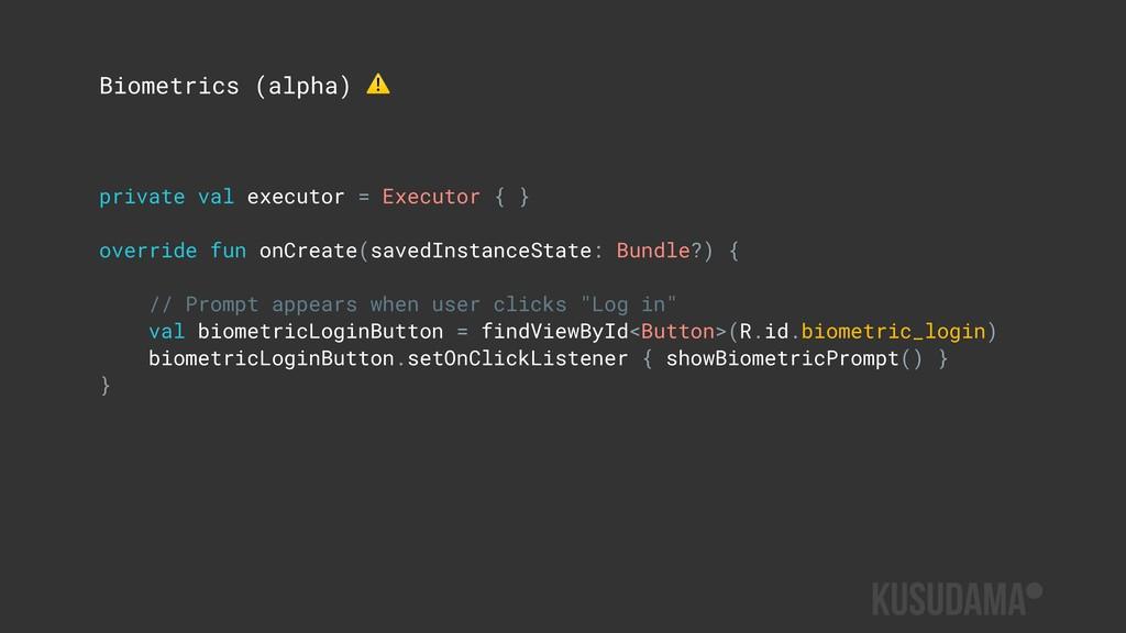 private val executor = Executor { } override fu...