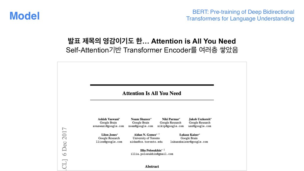 BERT: Pre-training of Deep Bidirectional Transf...