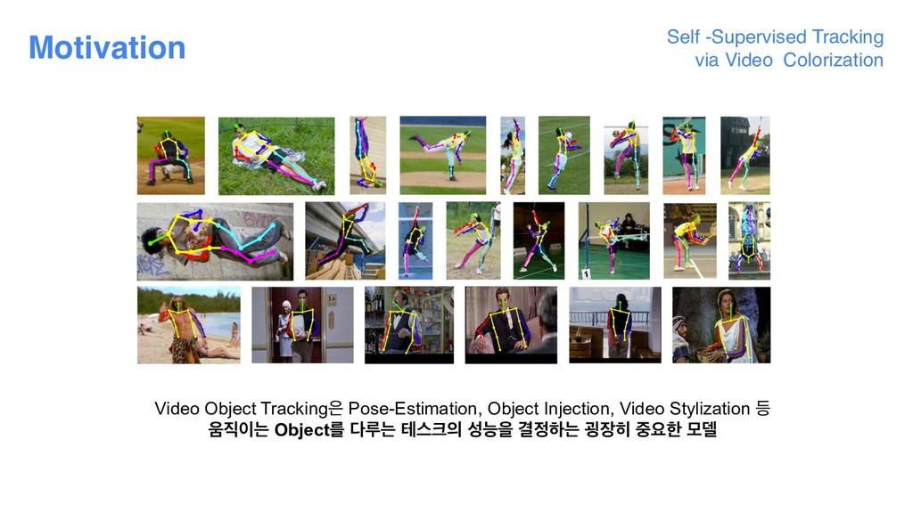Self -Supervised Tracking  via Video Colorizat...