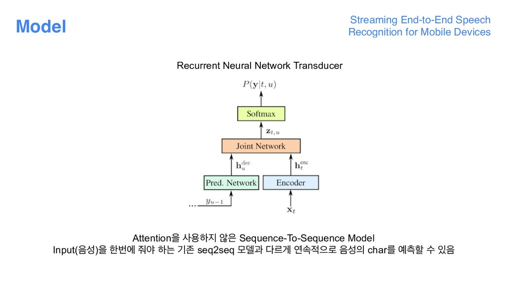 Model Streaming End-to-End Speech Recognition f...
