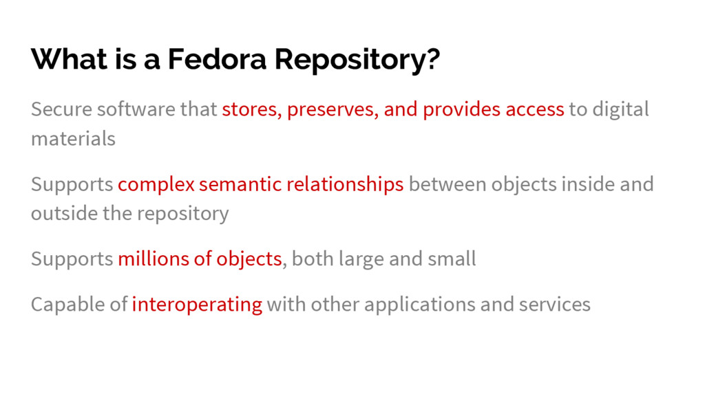 What is a Fedora Repository? Secure software th...