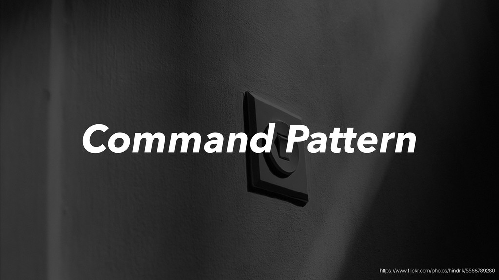 Command Pattern https://www.flickr.com/photos/hi...