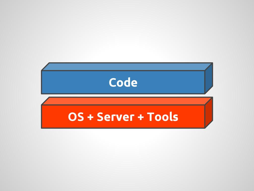 Code OS + Server + Tools