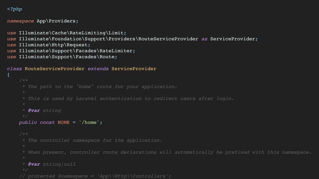 <?ph p  namespace App\Providers ;  use Illumina...