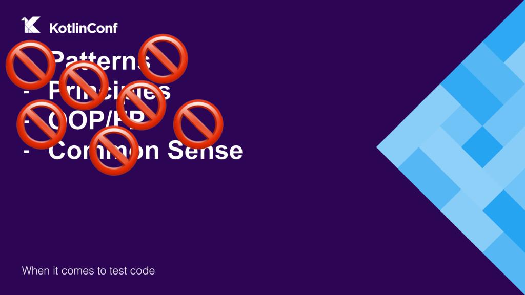 - Patterns - Principles - OOP/FP - Common Sense...