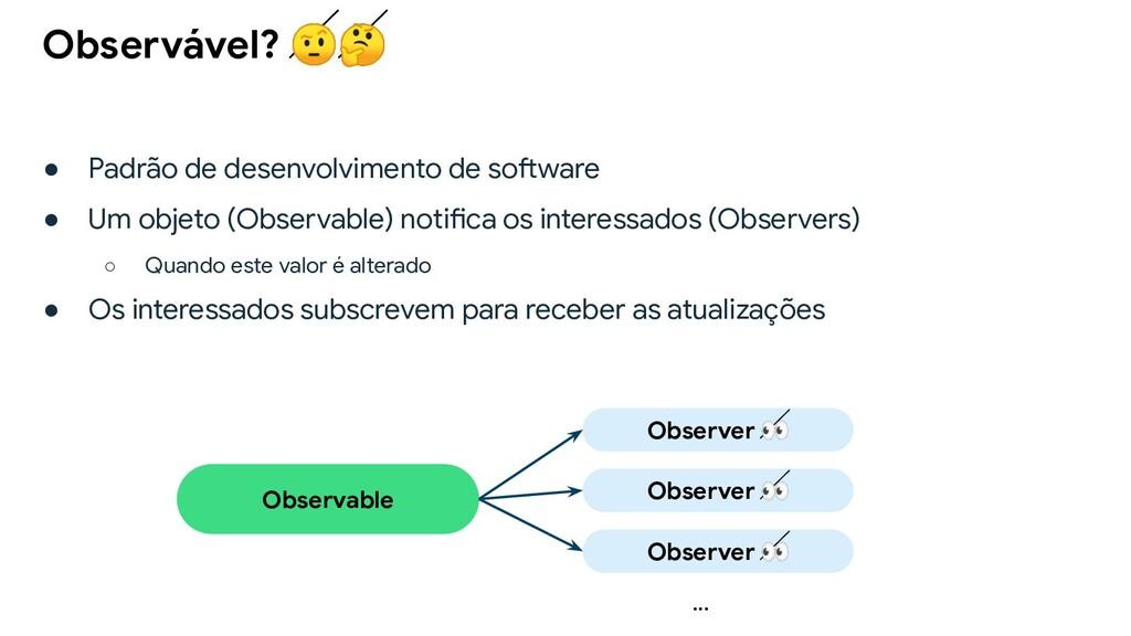 ● Padrão de desenvolvimento de software ● Um ob...