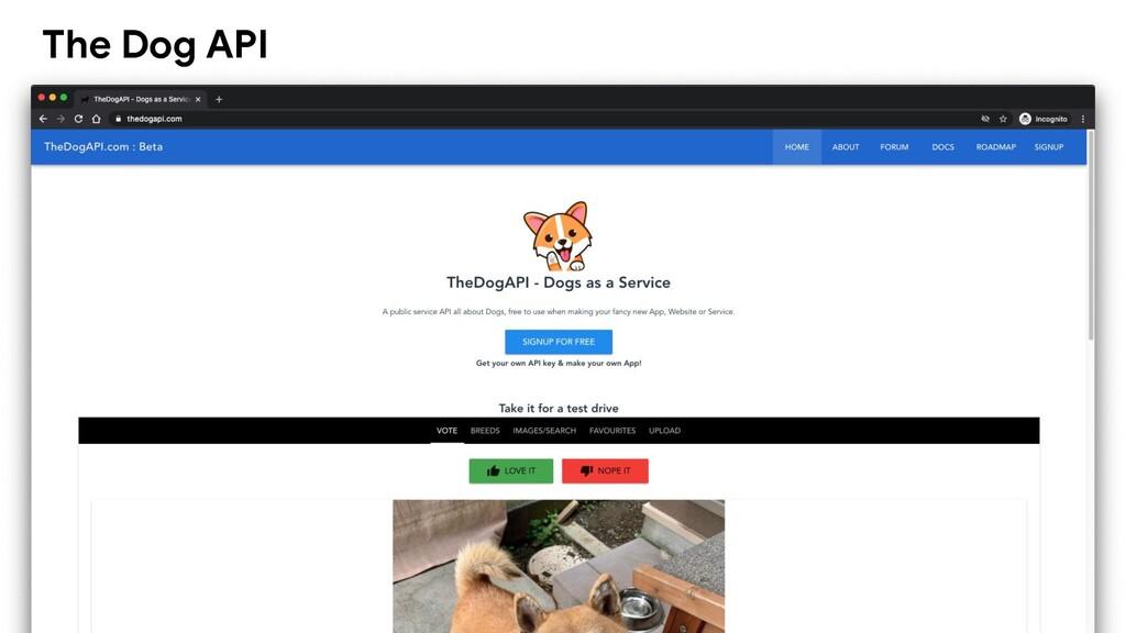 The Dog API