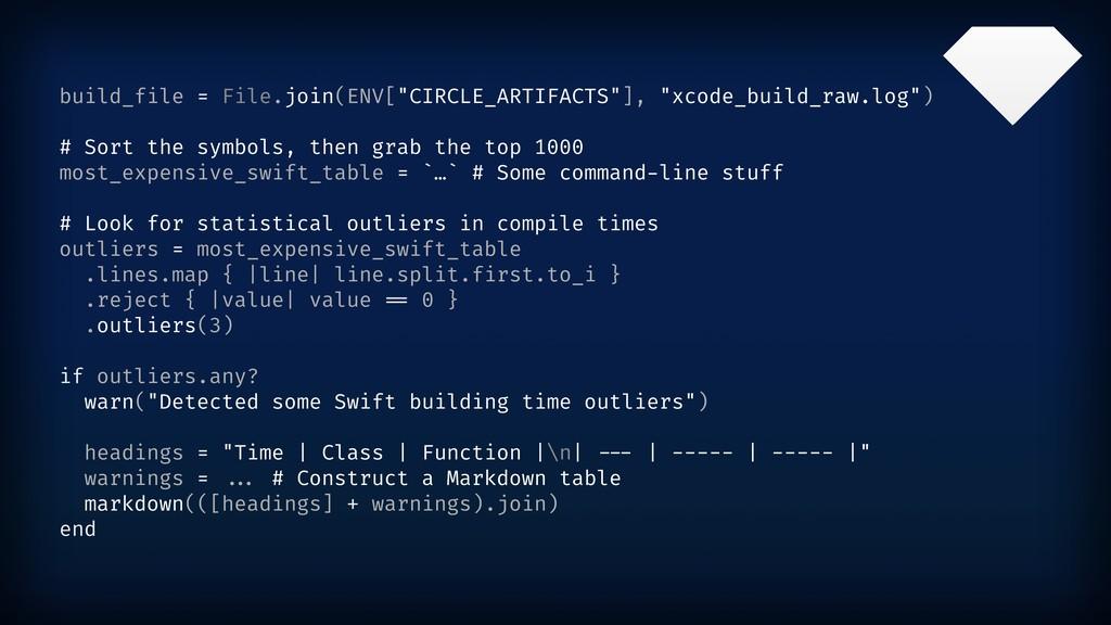 "build_file = File.join(ENV[""CIRCLE_ARTIFACTS""],..."