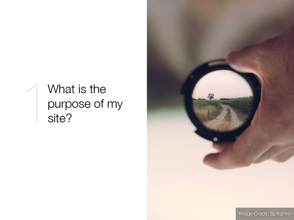 Image Credit: Splitshire What is the purpose of...