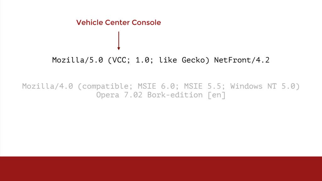 Mozilla/5.0 (VCC; 1.0; like Gecko) NetFront/4.2...