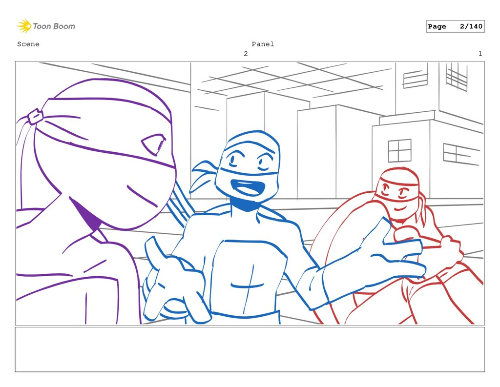 Scene 2 Panel 1 Page 2/140