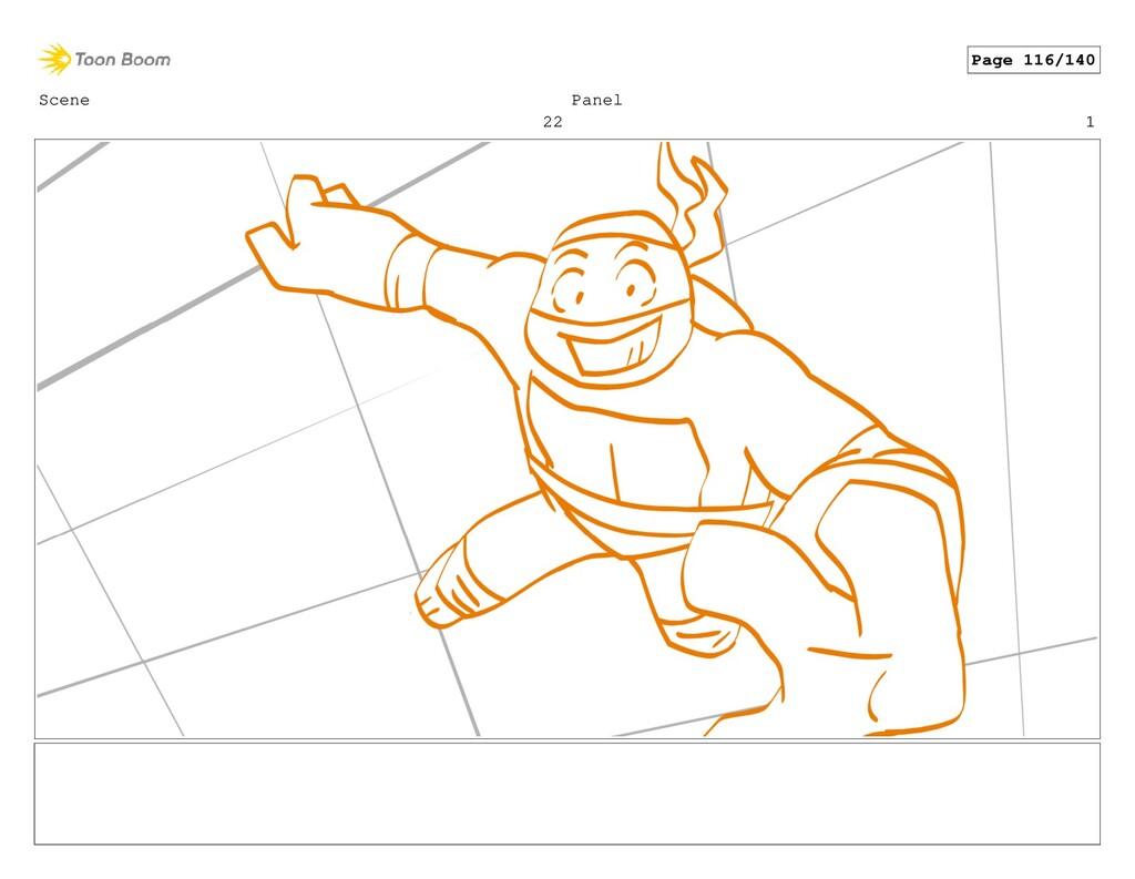 Scene 22 Panel 1 Page 116/140