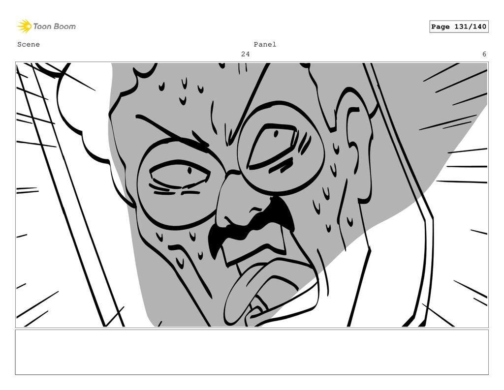 Scene 24 Panel 6 Page 131/140