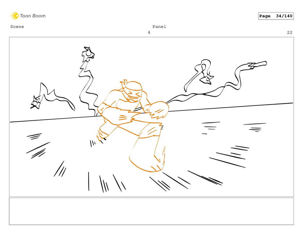 Scene 4 Panel 22 Page 34/140