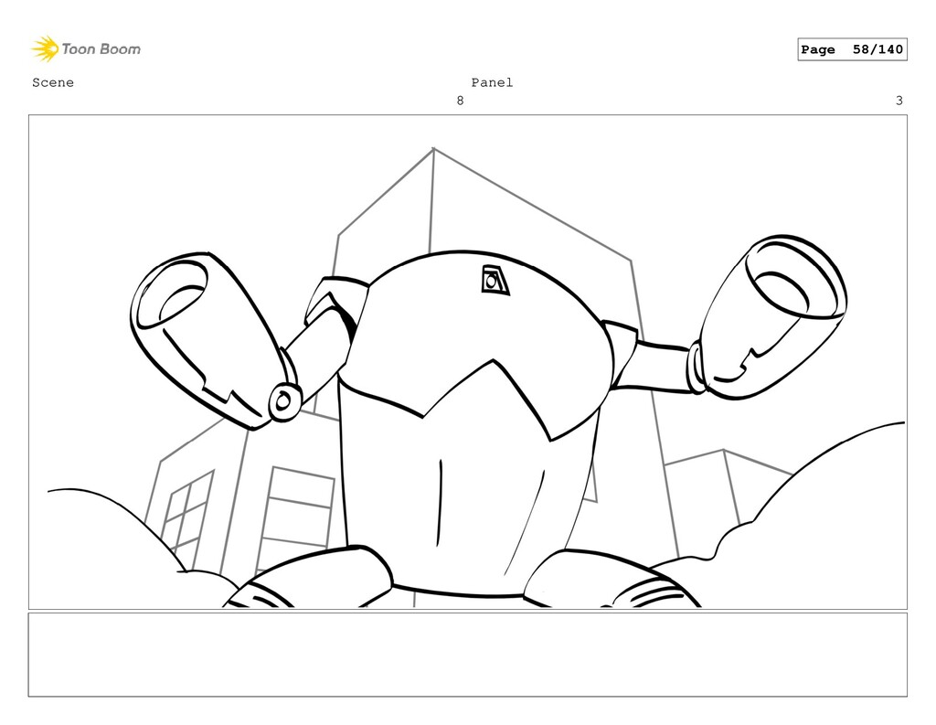 Scene 8 Panel 3 Page 58/140