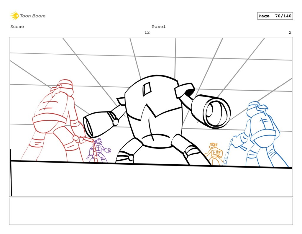 Scene 12 Panel 2 Page 70/140