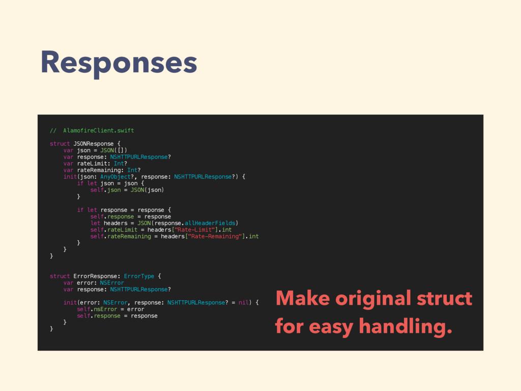 Responses // AlamofireClient.swift struct JSONR...