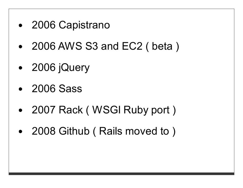 2006 Capistrano 2006 AWS S3 and EC2 ( beta ) 20...