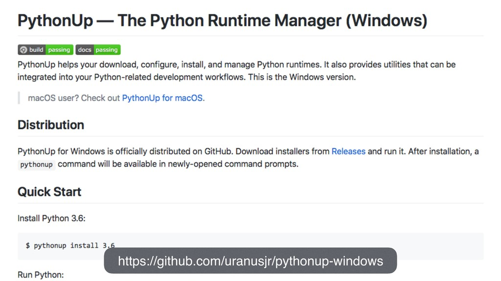 https://github.com/uranusjr/pythonup-windows
